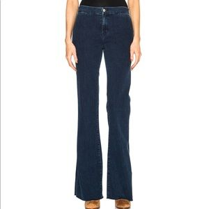 J Brand High Rise Tailored Flare Jeans, Allegiance